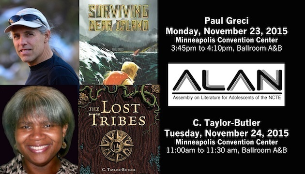 Our Authors showcased at ALAN in November!