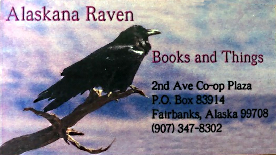 Alaskana Raven Books and Things