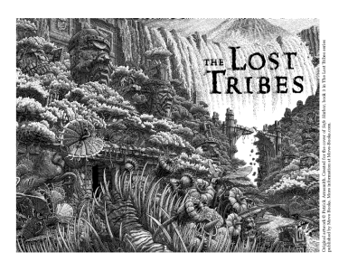 Lost Tribes 3 coloring sheet - full cover