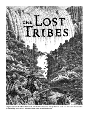 Lost Tribes 3 coloring sheet - portrait